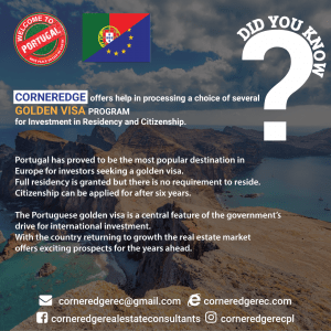 Portugal Golden Visa Program