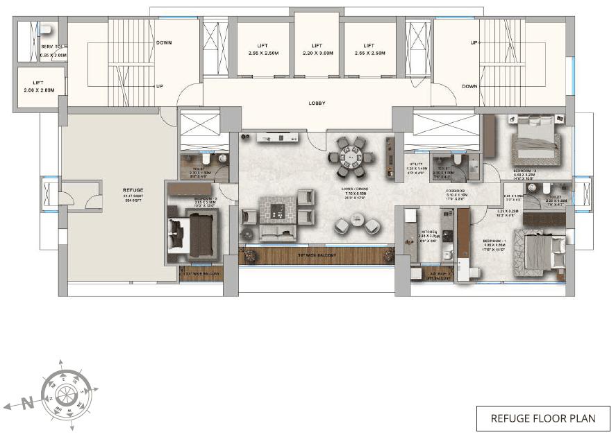 ParkMist - Refuge Floor Plan