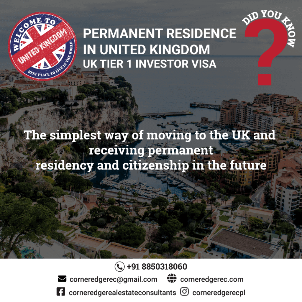 Permanent-Residence-In-UK-Tier1-Investor-Visa